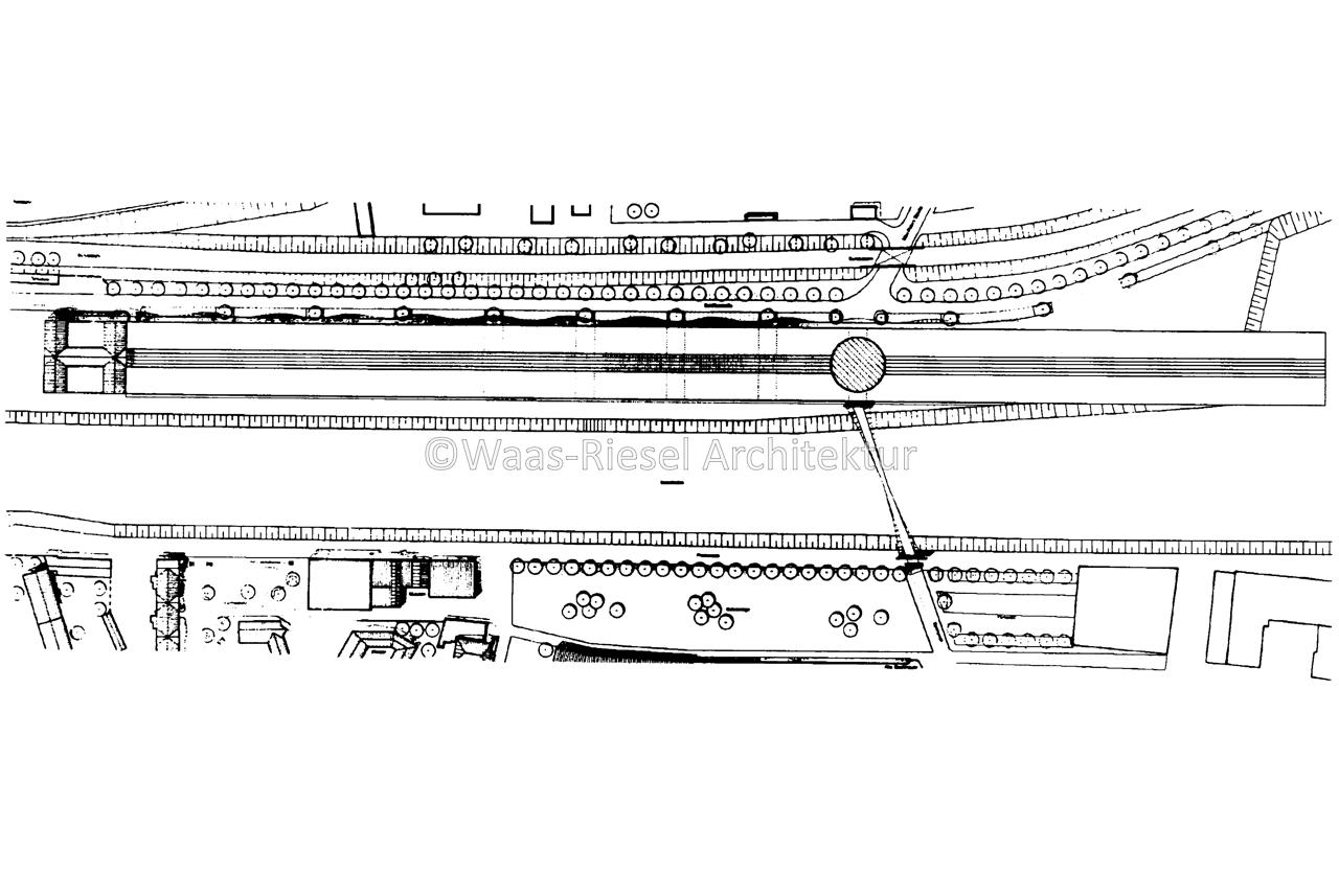 Entwurf Handelszentrum Duisburg