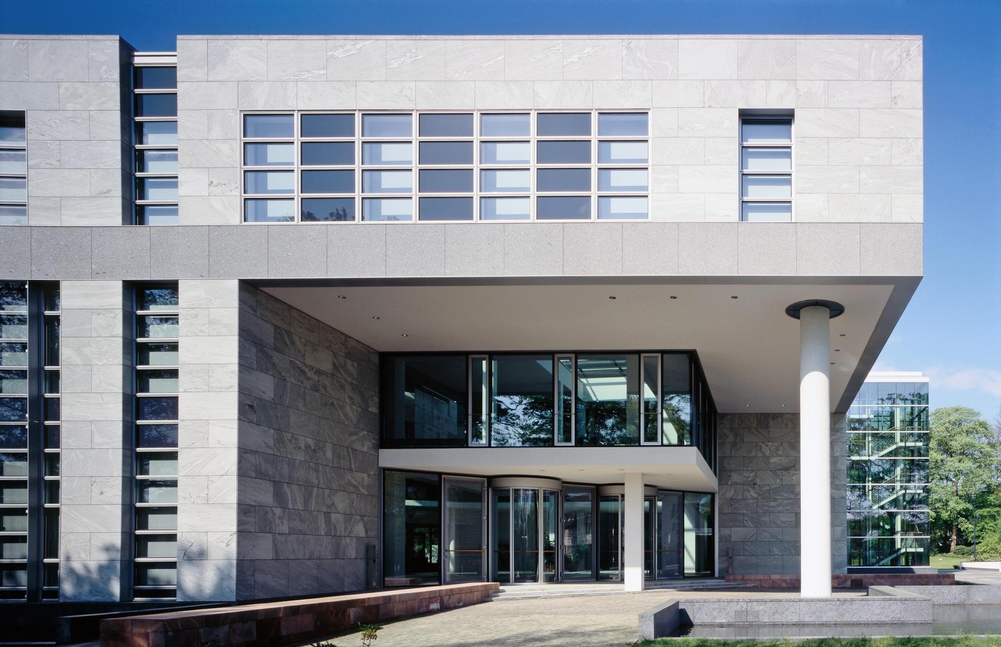 Eingangsfassade Seegerichtshof