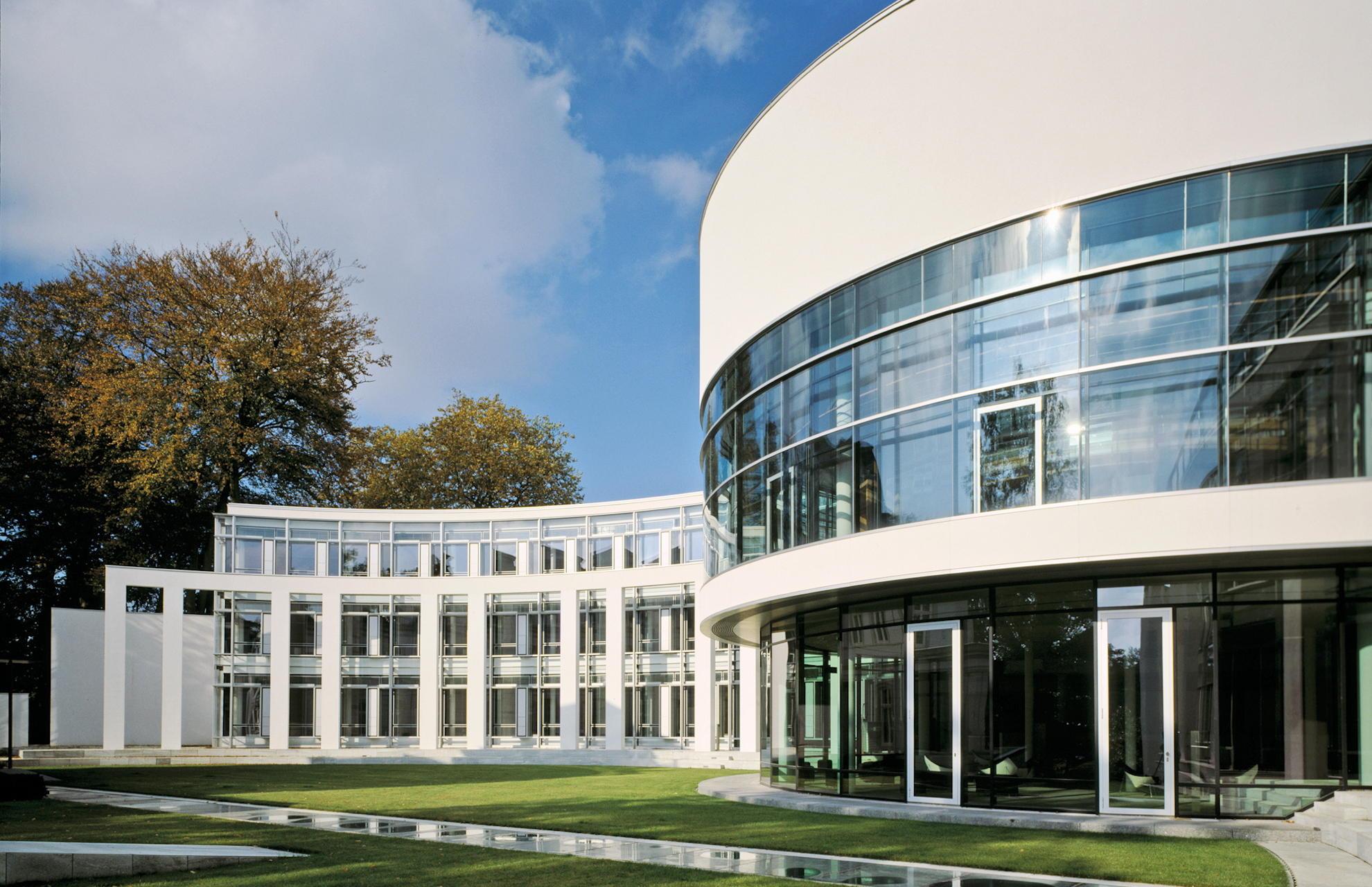 Gartenfassade Seegerichtshof