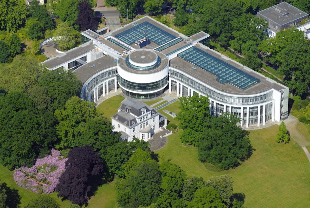 Luftbild Seegerichtshof
