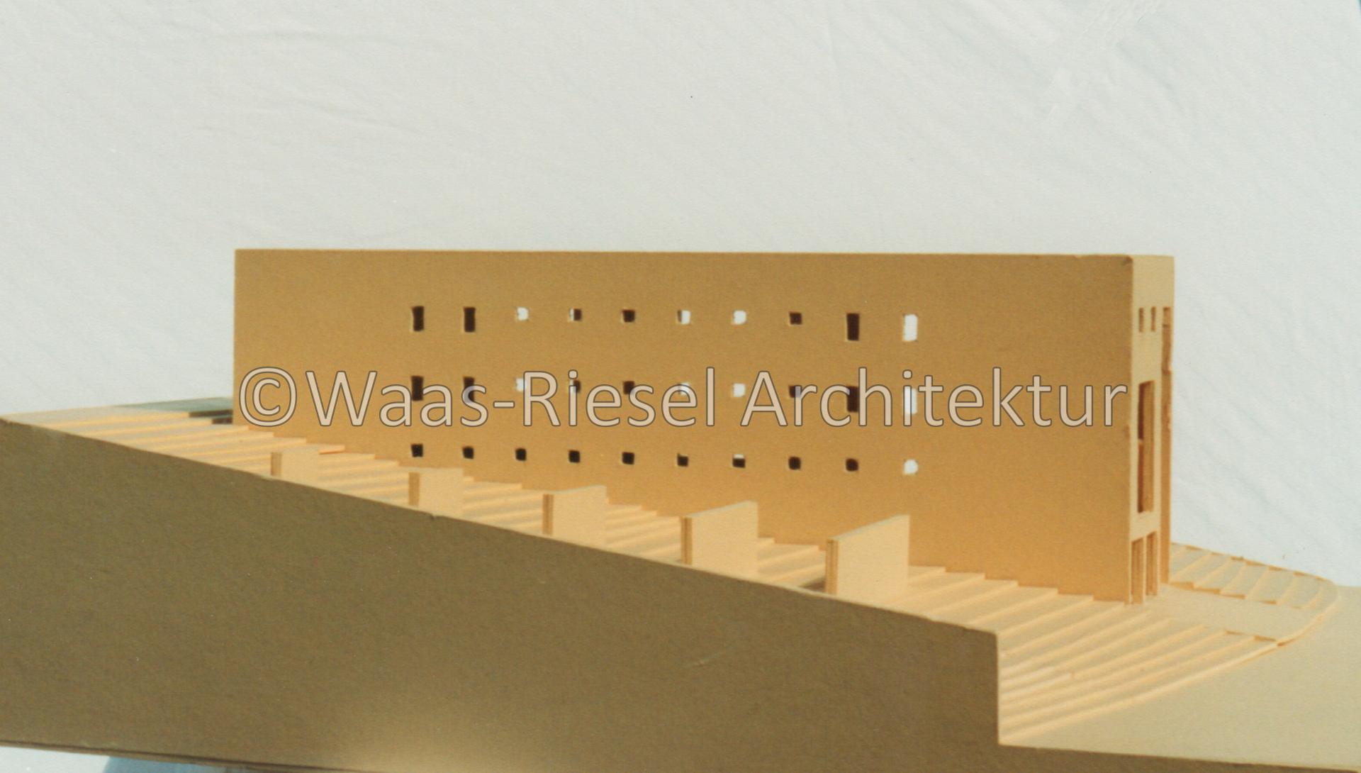 Model Einfamilienhaus im Wannebachtal